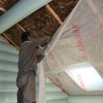 чем утеплить потолок бани со стороны чердака
