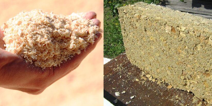 Утепление чердака опилками: 2 способа — насыпом и брикетами