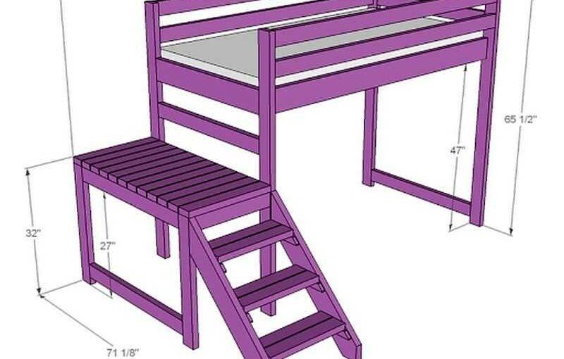 Как собрать кровать чердак с рабочей зоной своими руками