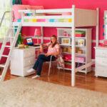 Возрастная категория кровати чердака для девочек от 7 до 16лет
